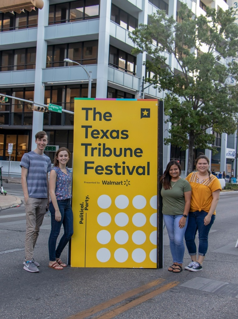SHSU, LEAP Center, LEAP Ambassadors, Austin Texas, Texas Tribune Festival, Tribfest 2019