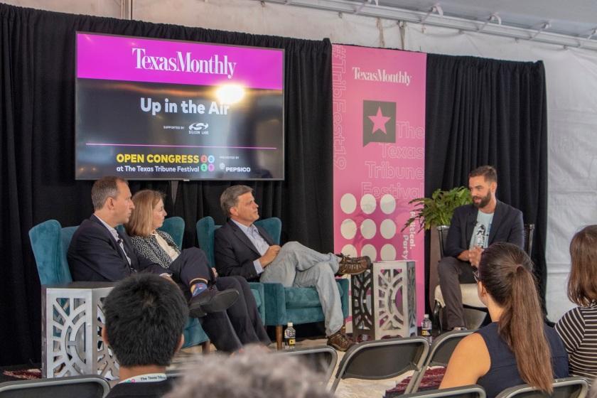 SHSU, LEAP Center, LEAP Ambassadors, Texas Tribune Festival, Tribfest 2019, Space Program, Douglas Brinkley