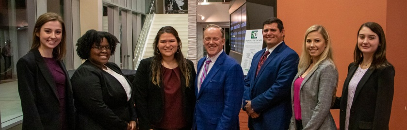 SHSU, LEAP Center, LEAP Ambassadors, World Affairs Council Houston, WAC, Sean Spicer