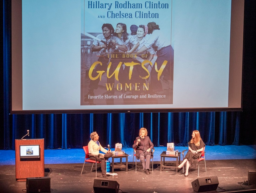 SHSU, LEAP Center, Center for Law Engagement And Politics, Hillary Clinton, Brazos Bookstore