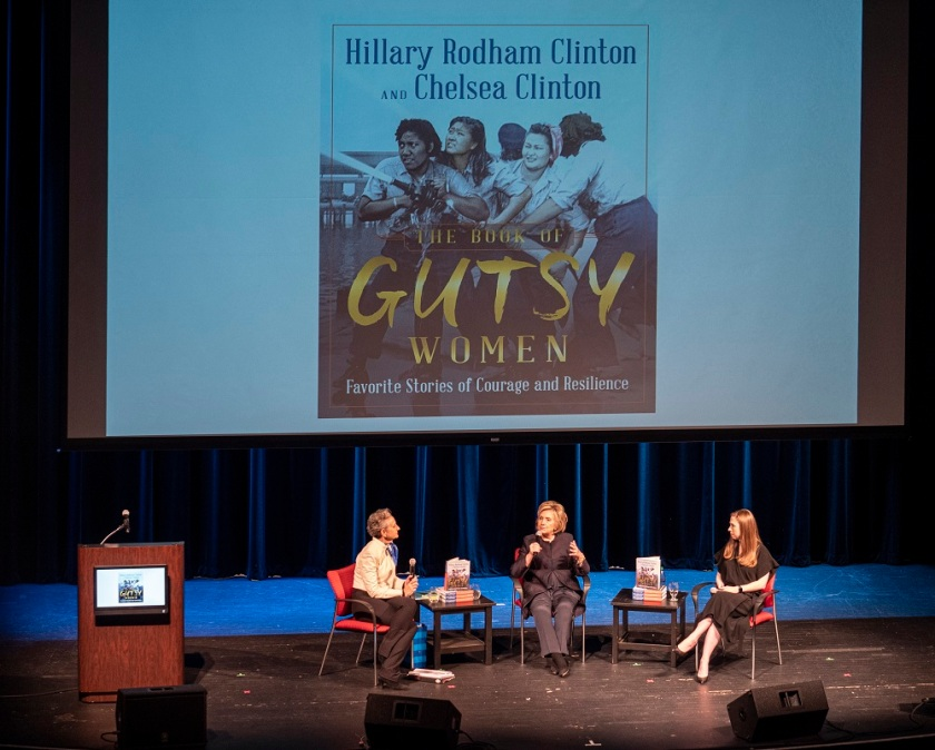 SHSU, LEAP Center, Center for Law Engagement And Politics, Hillary Clinton, Brazos Bookstore