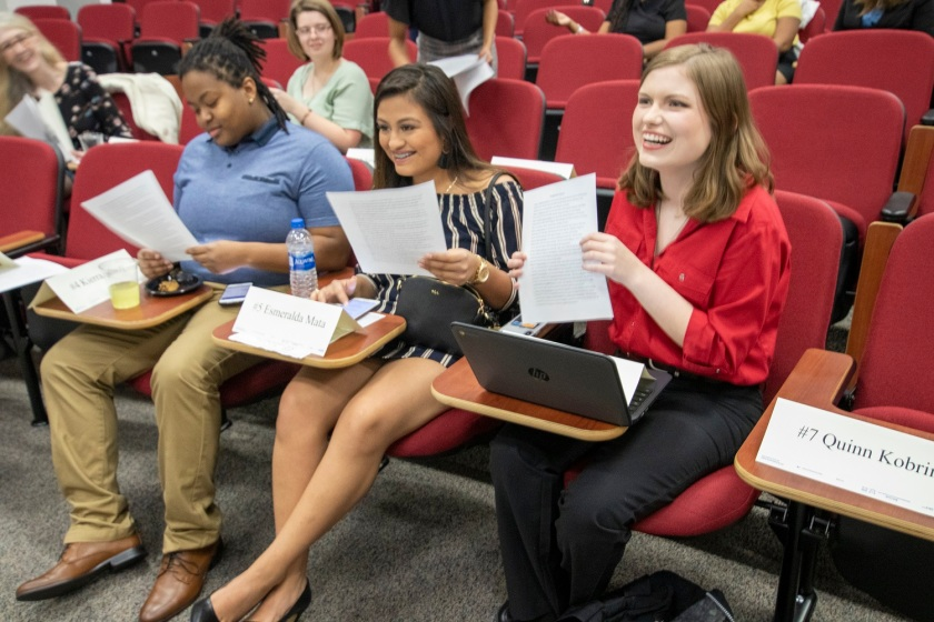 SHSU, LEAP Center, LEAP Ambassadors, Pre-Law Society, David Moorman, Voir Dire