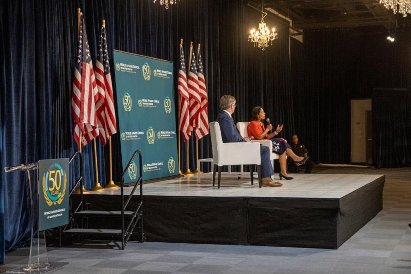 SHSU, LEAP Center, LEAP Ambassadors, Center for Law Engagement And Politics, World Affairs Council Houston, Susan Rice