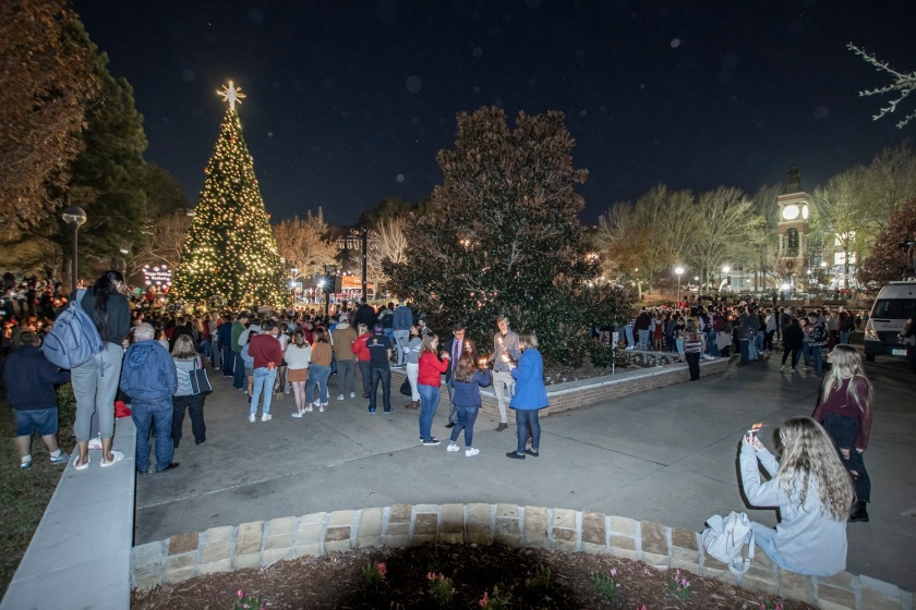 SHSU, LEAP Center, LEAP Ambassadors, Center for Law Engagement And Politics, Tree of Lights, Pre-Law Society SHSU
