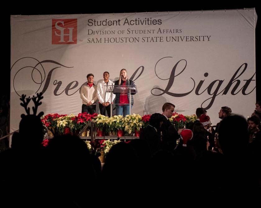 SHSU, LEAP Center, LEAP Ambassadors, Center for Law Engagement And Politics, Tree of Lights, Pre-Law Society SHSU
