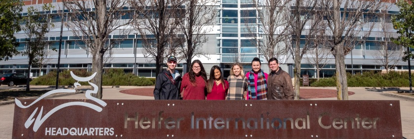 SHSU, LEAP Center, LEAP Ambassadors, Center for Law Engagement And Politics, Little Rock AR, Heifer International