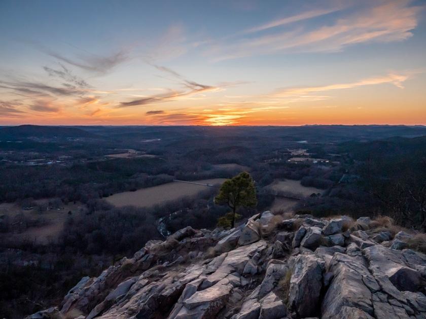 SHSU, LEAP Center, LEAP Ambassadors, Center for Law Engagement And Politics, Little Rock AR, Pinnacle Mountain Hike