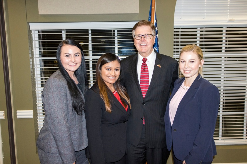 SHSU, LEAP Center, LEAP Ambassadors, Center for Law Engagement And Politics, Walker County Republican Party, Dan Patrick, Ernest Bailes, Charles Schwertner, Reagan Dinner