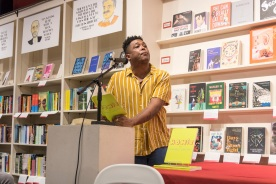 SHSU, LEAP Center, LEAP Ambassadors, Center for Law Engagement And Politics, Brazos Bookstore, Danez Smith