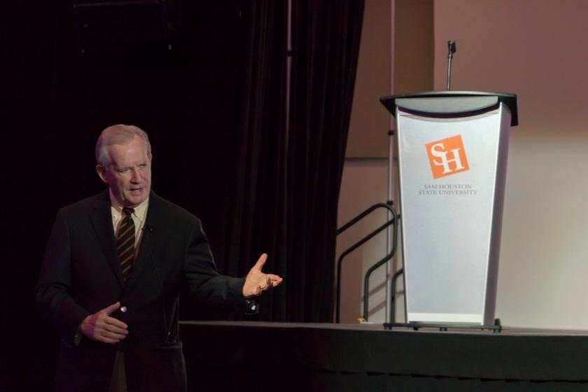 SHSU, LEAP Center, Center for Law Engagement And Politics, Peter Roussel, Kat Talk