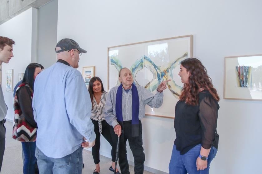 SHSU, LEAP Center, LEAP Ambassadors, Center for Law Engagement And Art, Houston Texas, MFAH, Museum of Fine Arts, Glassell School of Art, Arthur Turner