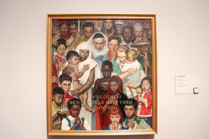 SHSU, LEAP Center, LEAP Ambassadors, Center for Law Engagement And Politics, Houston Texas, Museum of Fine Arts, Norman Rockwell, Four Freedoms