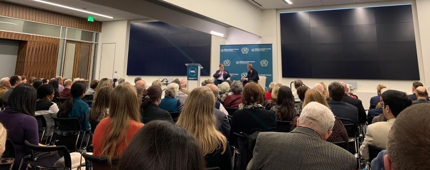 SHSU, LEAP Center, LEAP Ambassadors, Center for Law Engagement And Politics, World Affairs Council--Houston, Ambassador Antonio Garza