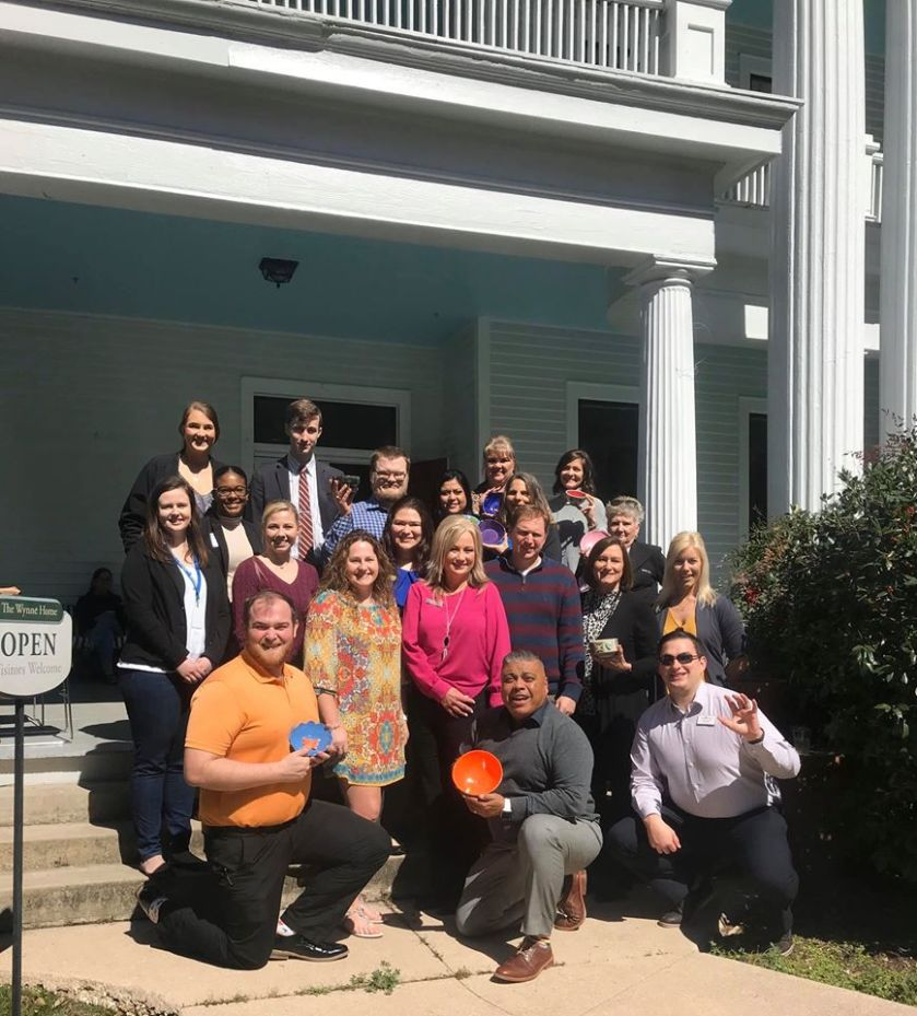 SHSU, LEAP Center, Center for Law Engagement And Politics, LEAP Ambassadors, Wynne Home Arts Center, Meals on Wheels, Empty Bowls