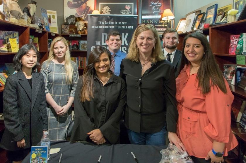 SHSU, LEAP Center, LEAP Ambassadors, Center for Law Engagement And Politics, Murder by the Book, Meg Gardiner, Unsub