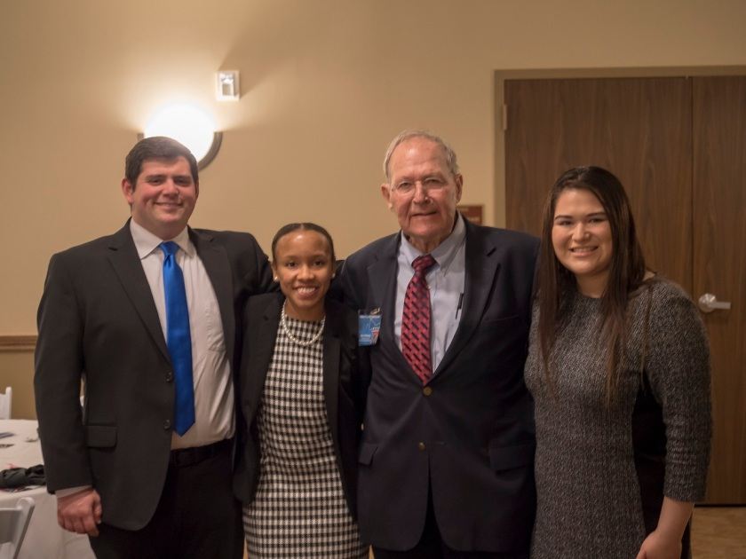 SHSU, LEAP Center, Center for Law Engagement And Politics, Molly Ivins Dinner, Walker County Democratic Party, Dave McNeely