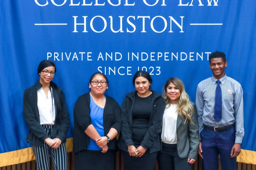 SHSU, LEAP Center, Pre-Law Society, LEAP Ambassadors, South Texas College of Law, STCL, Jessica Rodriguez, Moot Court