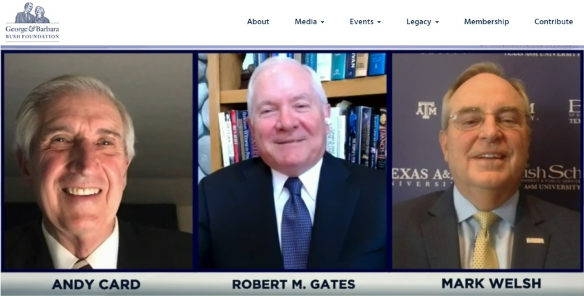 SHSU, LEAP Center, Center for Law Engagement And Politics, Bush School at TAMU, Dean Mark Welsh, Andy Card, Robert Gates, Exercise of Power