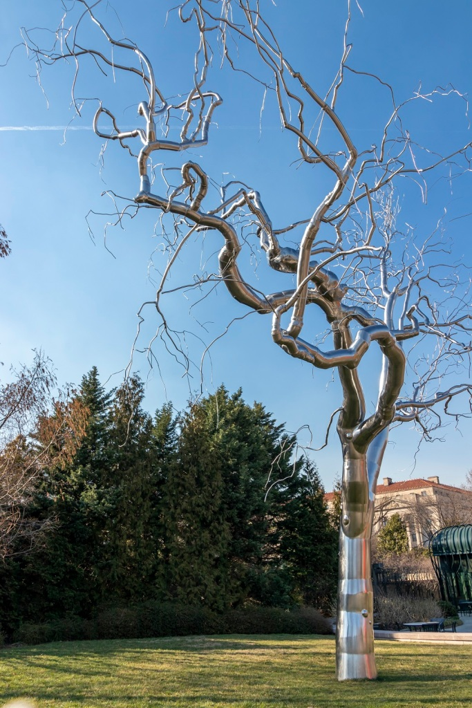 SHSU, LEAP Center, Center for Law Engagement And Politics, Washington DC, National Gallery of Art Sculpture Garden, Roxy Paine