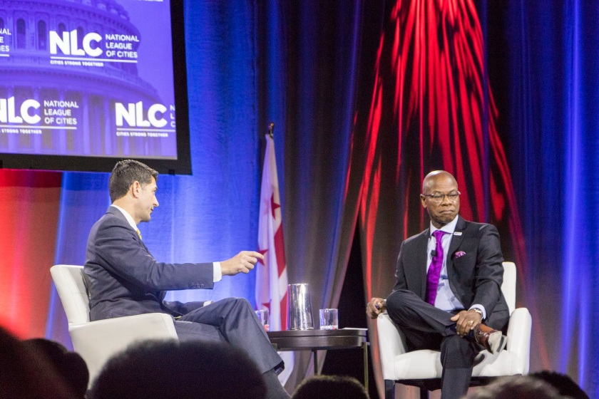 SHSU, LEAP Center, Center for Law Engagement And Politics, Washington DC, National League of Cities, Congressional City Conference 2020, Speaker Paul Ryan