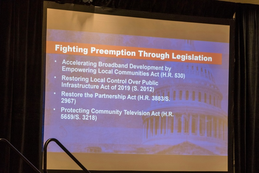 SHSU, LEAP Center, Center for Law Engagement And Politics, Washington DC, National League of Cities, Congressional City Conference 2020, Premption