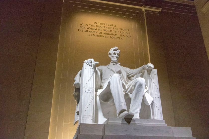 SHSU, LEAP Center, Center for Law Engagement And Politics, Washington DC, Lincoln Memorial