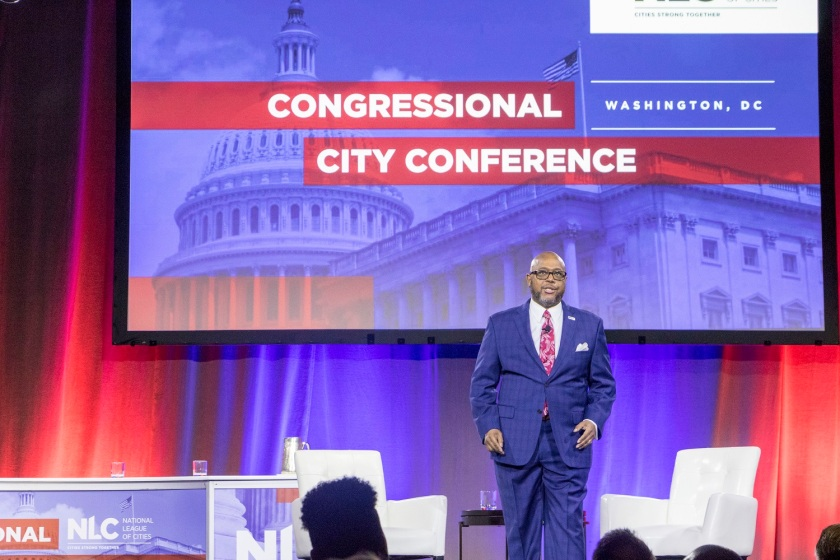 SHSU, LEAP Center, Center for Law Engagement And Politics, National League of Cities Congressional City Conferenc, Vince Williams