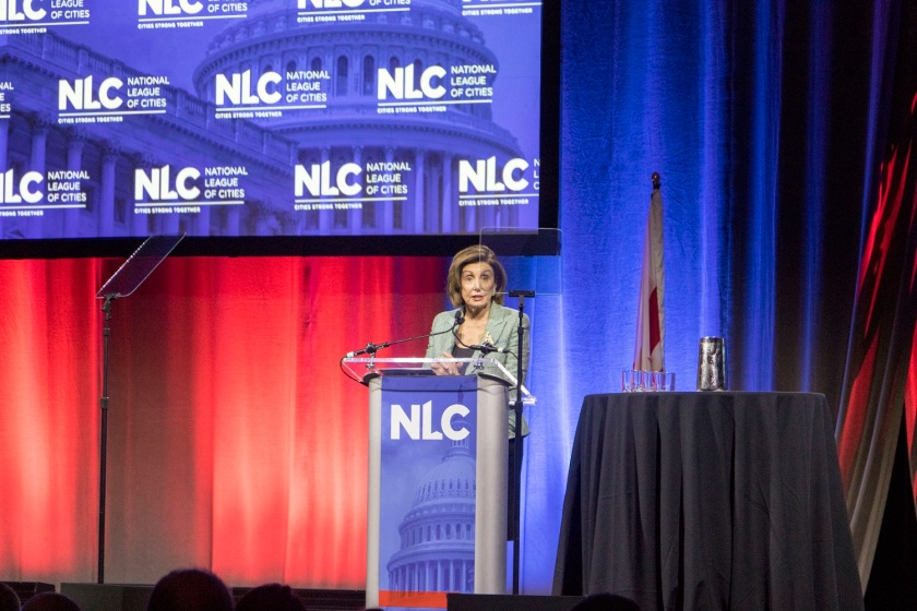 SHSU, LEAP Center, Center for Law Engagement And Politics, National League of Cities Congressional City Conference, Nancy Pelosi