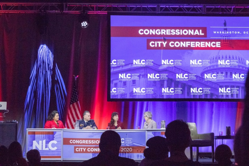 SHSU, LEAP Center, Center for Law Engagement And Politics, National League of Cities Congressional City Conference