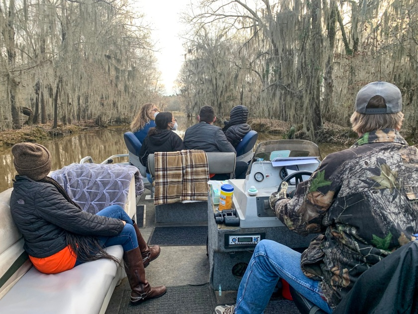 SHSU, LEAP Center, Center for Law Engagement and Politics, Caddo Lake