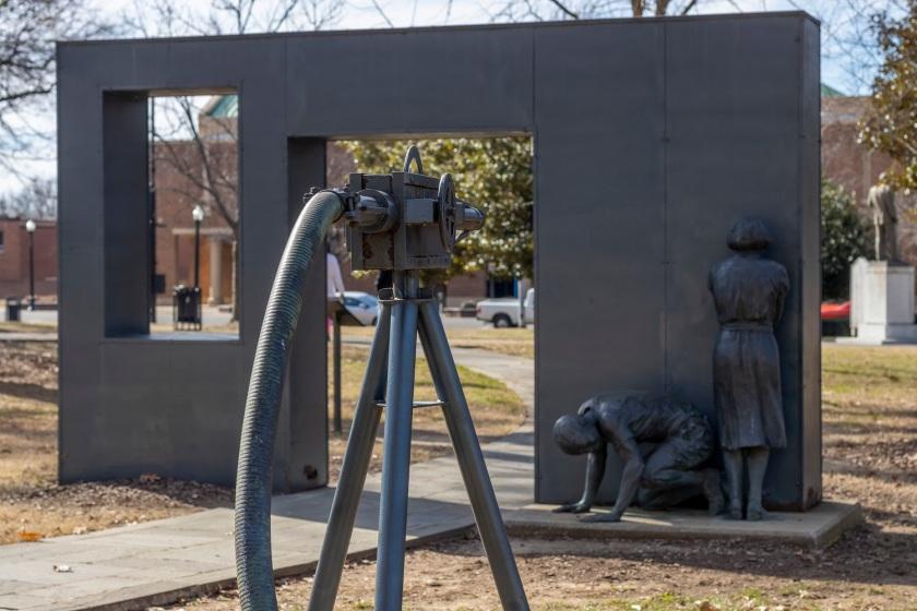 SHSU, LEAP Center, Center for Law Engagement And Politics, Birmingham AL, Kelly Ingram Park