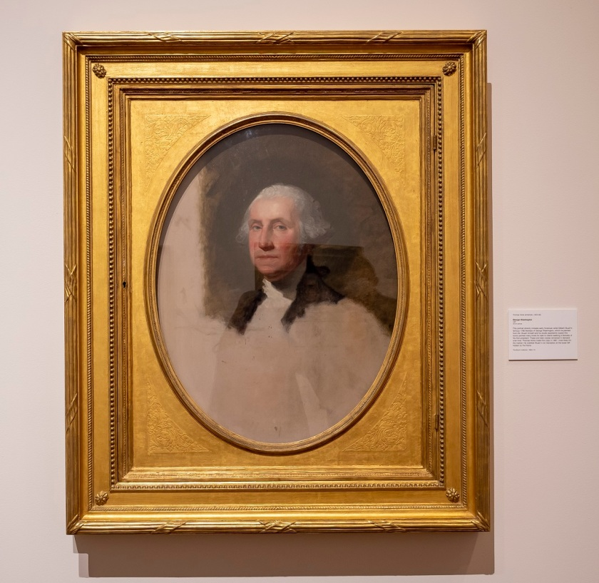 SHSU, LEAP Center, Center for Law Engagement And Politics, Montgomery AL, Montgomery Museum of Fine Arts, Gilbert Stuart, George Washington