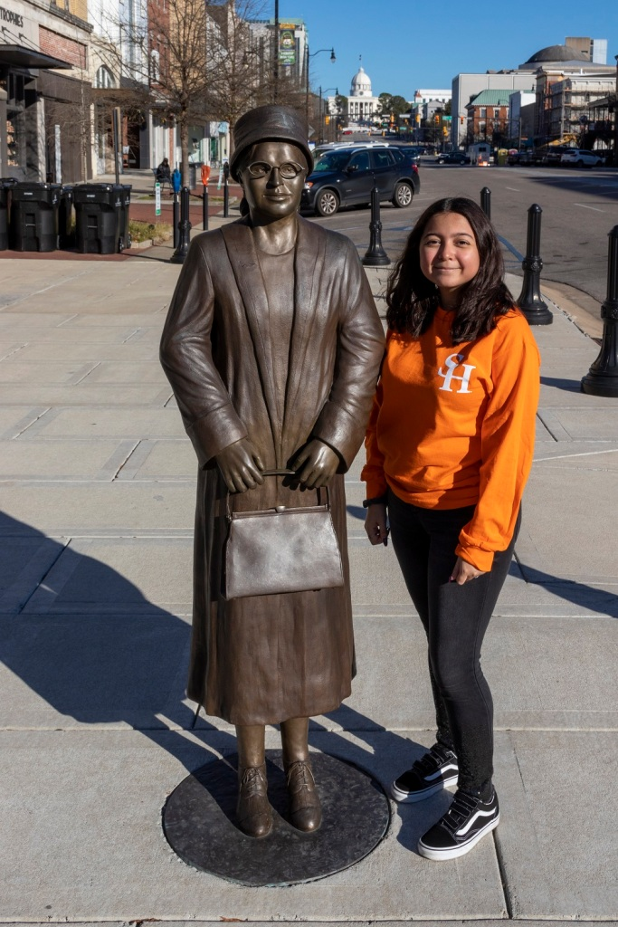 SHSU, LEAP Center, Center for Law Engagement And Politics, Montgomery AL, Rosa Parks