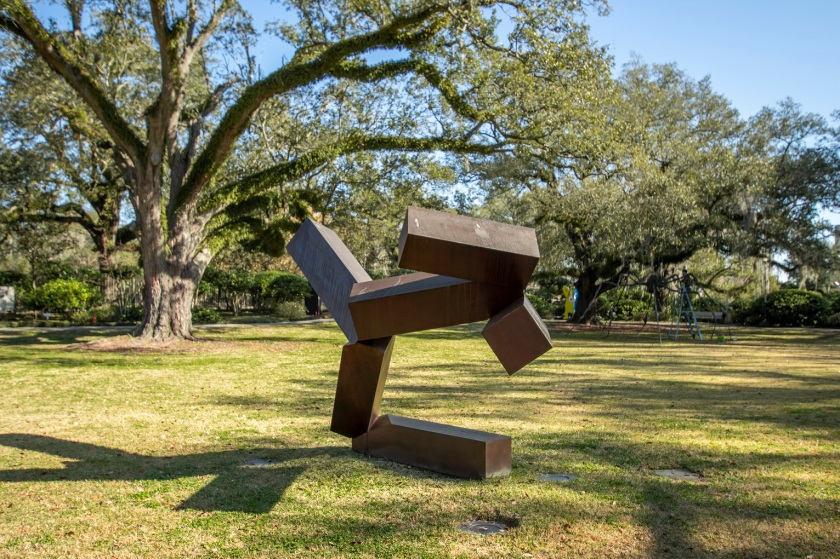 SHSU, LEAP Center, Center for Law Engagement And Politics, New Orleans, NOLA, Besthoff Sculpture Garden, Joel Shapiro
