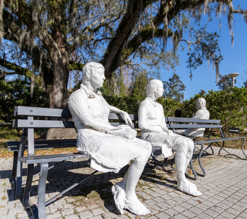 SHSU, LEAP Center, Center for Law Engagement And Politics, New Orleans, NOLA, Besthoff Sculpture Garden, George Segal