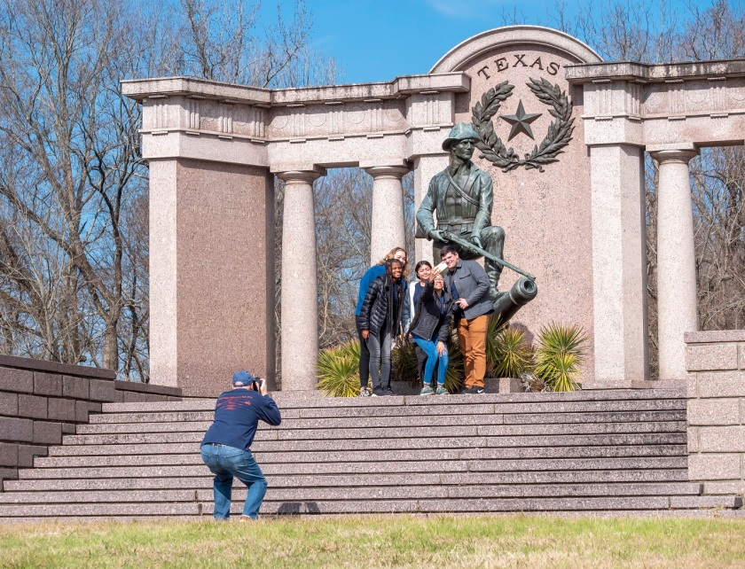 SHSU, LEAP Center, Center for Law Engagement And Politics, Vicksburg Battlefield, Texas Monument, John Thomason.