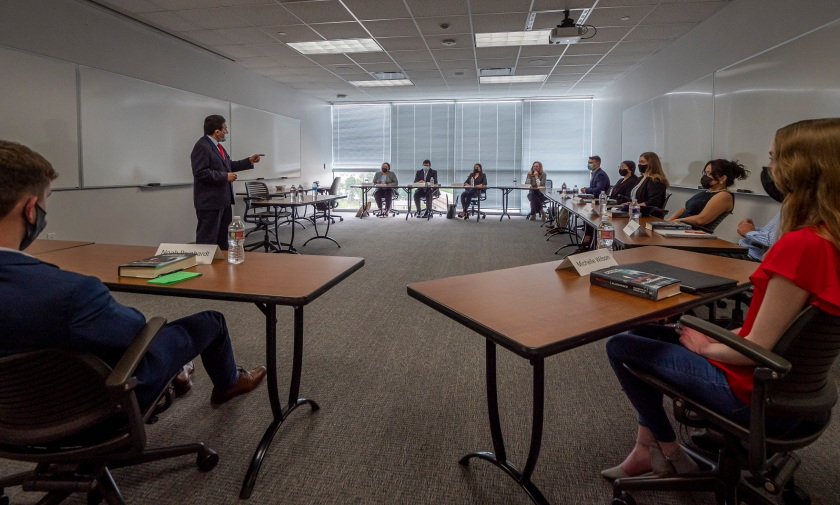 SHSU, Sam Houston State University, LEAP Center, Center for Law Engagement And Politics, Pre Law, Attorney General, TX Supreme Court, White House Counsel, Alberto Gonzales