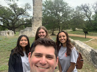 SHSU, LEAP Center, Center for Law Engagement And Politics, Austin TX, ATX, Salado College Ruins