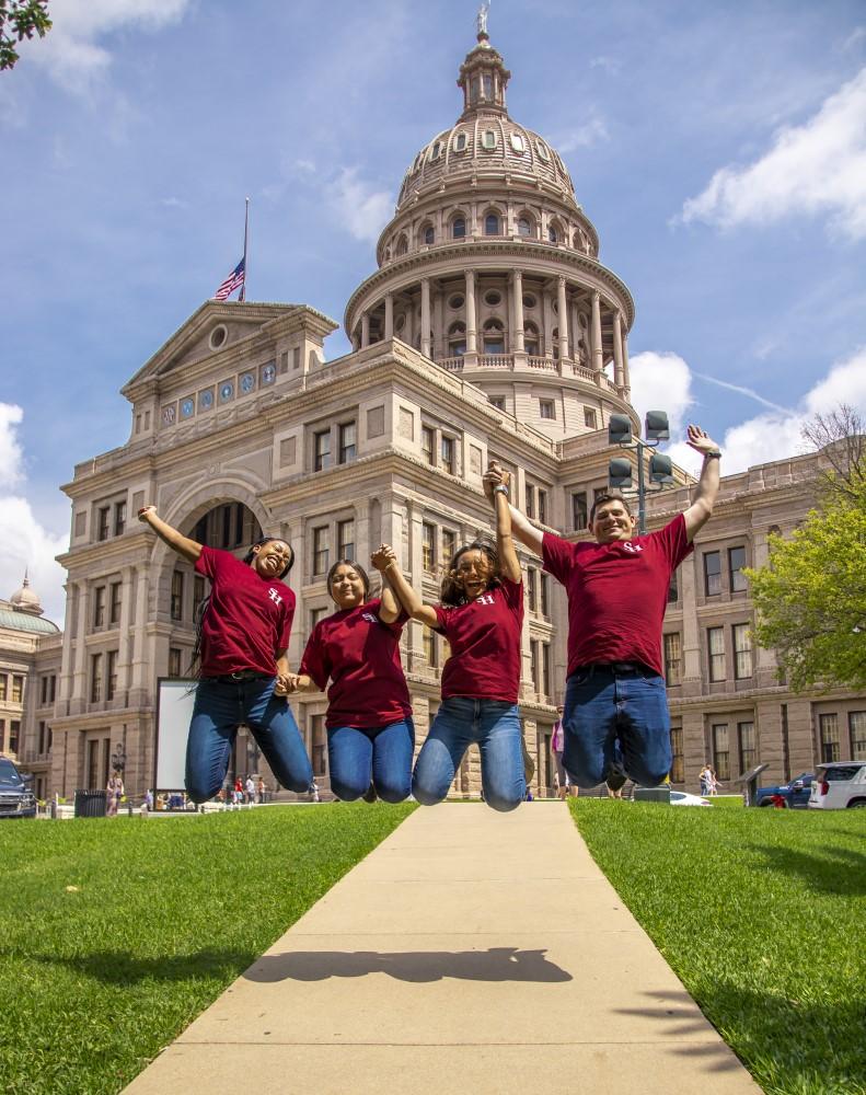 SHSU, LEAP Center, Center for Law Engagement And Politics, Sam Houston, Texas Capitol Building
